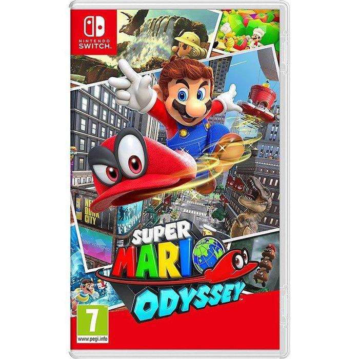 全新未拆 NS 瑪利歐奧德賽-中文英文日文9國語言版- Mario Odyssey Switch