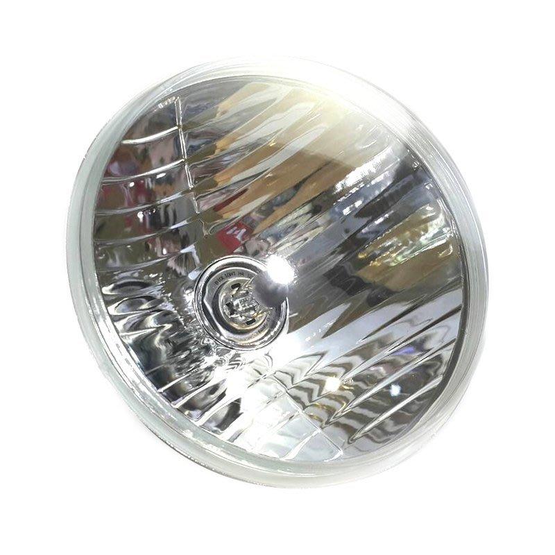 通用型 圓形大燈 H4 12V 7英吋 含燈泡