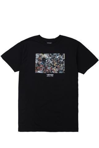 【HOPES】THE HUNDREDS JP SPLATTER T-SHIRT - BLACK
