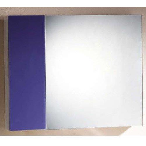 浴室櫃 防水收納櫃 吊櫃 置物櫃 台中工廠 自產自銷 可訂做@成舍衛浴 @紫色~夢幻~天天照鏡天天開心