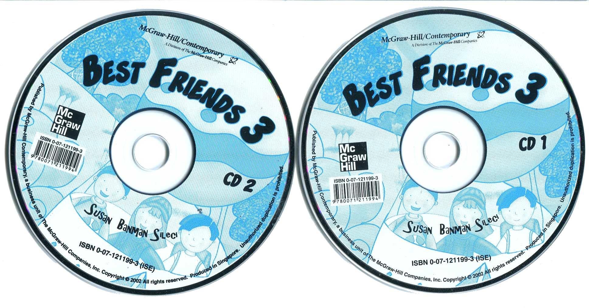 兒童美語系列 Best Friends 3   課本CDs