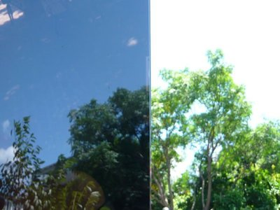 (HF居家隔熱紙) 黑色反光 玻璃貼紙 防水窗貼 落地窗 毛玻璃貼  室內設計 店門櫥窗 推薦HF