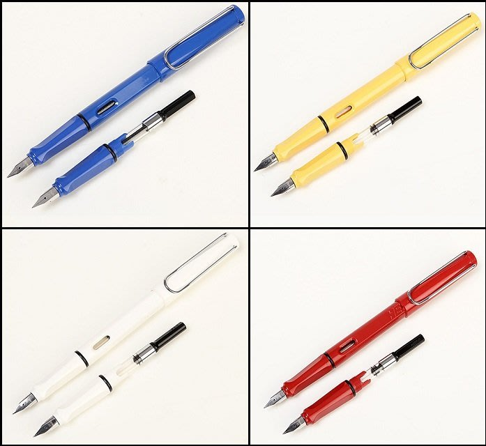 ☆艾力客 工坊☆ 000-96 英雄359A雙筆頭狩獵夏日晴彩鋼筆(六色 )