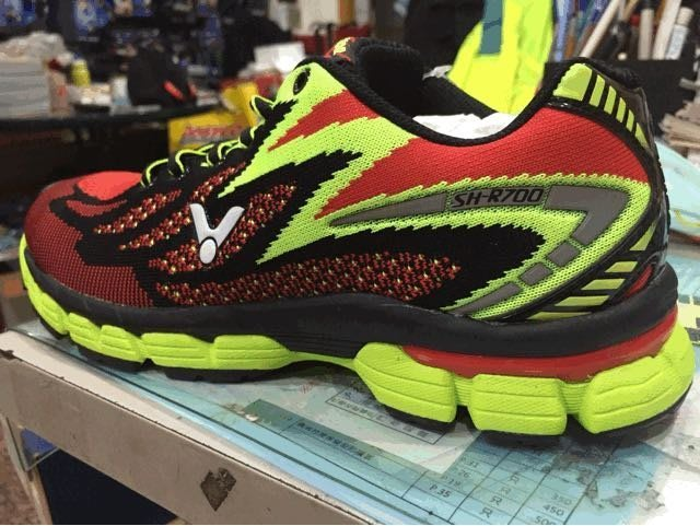 ◇ 羽球世家◇【限量慢跑鞋】勝利 Victor編織慢跑鞋 一體成形 可見式的氣墊 (可刷卡)