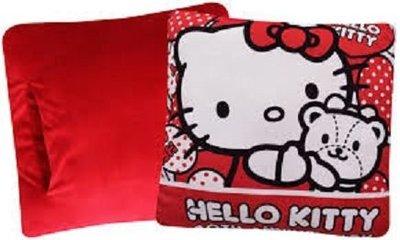 GIFT41 4165本通 三重店 Hello Kitty kitty40 週年限量紀念 暖手抱枕 KT-0609