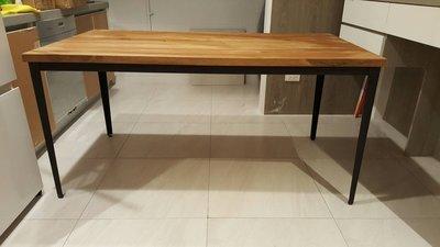 【緬甸柚木-TKWOOD】客製化鐵腳/桌腳/椅腳 - L鐵板造型