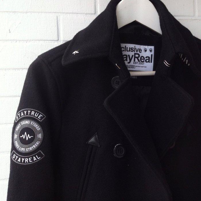 $5999起標 StayReal 黑色軍裝外套