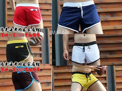 『陽光海岸』內置雙丁定位男士運動短褲 家居褲 速幹面料滌綸透氣短褲 WJ704