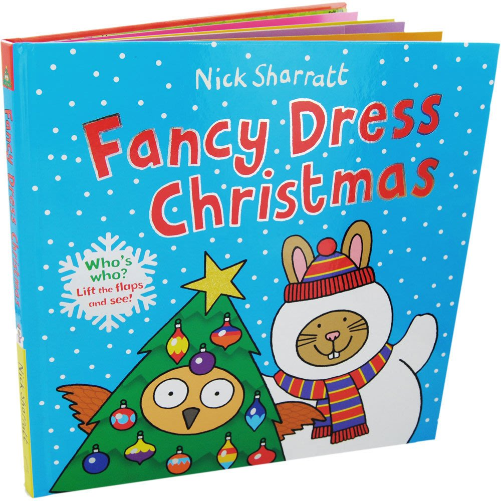 *小P書樂園* Fancy Dress Christmas Hardcover