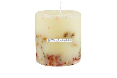 【宇優生技】最便宜 歐洲頂級進口 季節限量 鮮花裝飾香氛手工蠟燭 熱帶風情 浪漫情人 贈送 交換禮物首選舒壓放鬆
