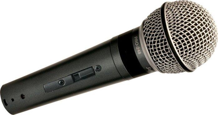 【六絃樂器】Superlux PRO-248S 專業系列 動圈式超心形麥克風 / 舞台音響設備 專業PA器材