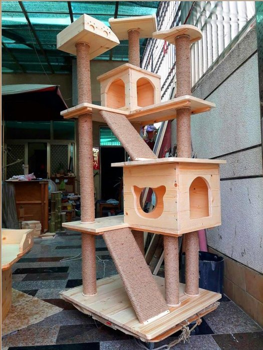 貓跳台系列 D款跳台 (可分期)