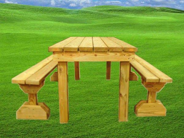 [木作工程館] 6呎南方松野餐桌椅組