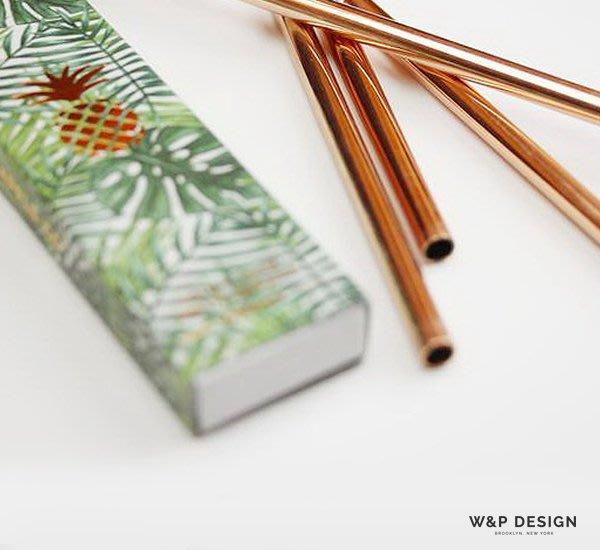 GOODFORIT / 紐約廠牌W&P Design 10 inch Metal Straws經典造型不鏽鋼吸管組/兩色