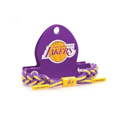 【HOPES】RASTACLAT NBA LOS ANGELES LAKERS 經典雷獅特手環