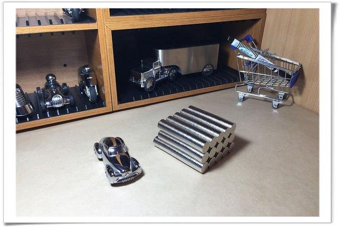 強力磁鐵圓形規格15mmx2mm--收納傳輸線及鑰匙圏好幫手!
