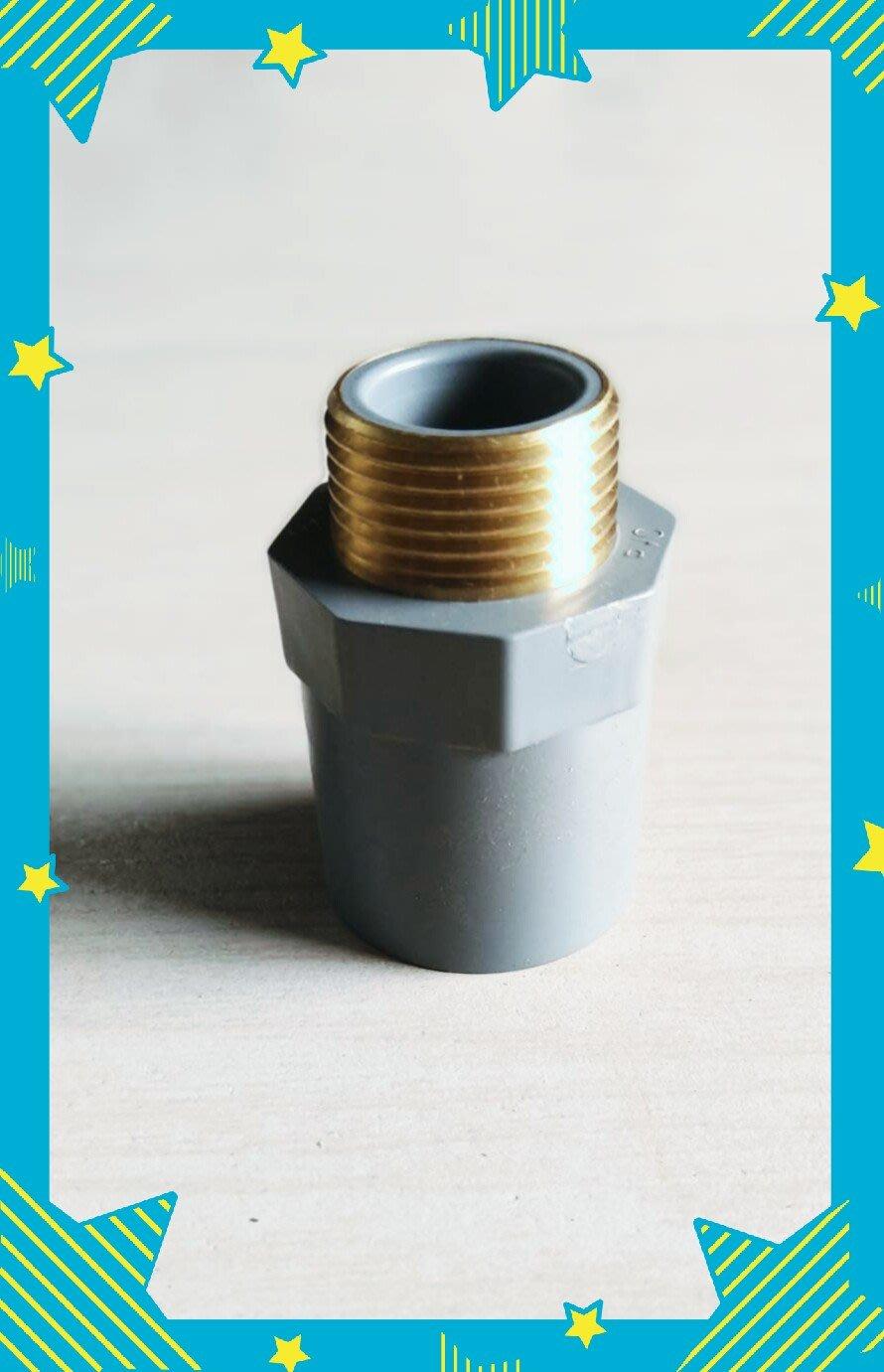 1'1/2套銅閥接頭,1吋半套銅閥接頭,1'1/2外牙套銅S,1'1/2塑膠閥接外牙套銅接頭。