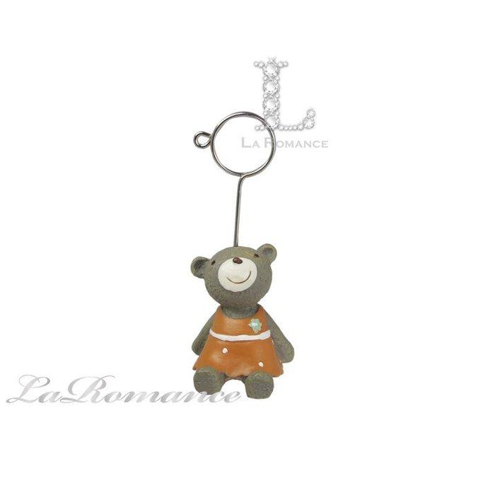 【COCORO 動物好朋友特惠系列】 小熊名片夾 / 紙夾 / 動物擺飾 / 兒童房 / 童趣