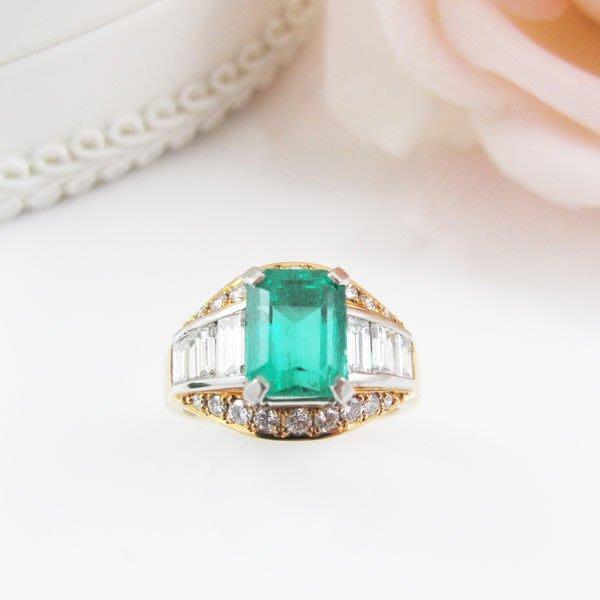 【JHT金宏總珠寶/GIA鑽石專賣】天然祖母綠鑽戒 2.27 ct  (JB22-BR24)