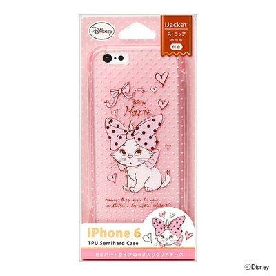 尼德斯Nydus~* 日本正版 迪士尼 瑪莉貓 Marie 半透明 TPU軟殼 手機殼 4.7吋 iPhone6