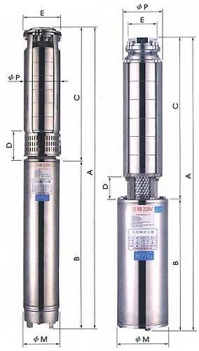╭☆優質五金☆╮1HP 協昌牌 不銹鋼沉水式大樓專用清水揚水泵浦(1HP~20HP ) 抽水馬達