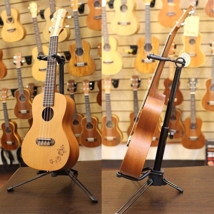 《小山烏克麗麗》 全新台製 烏克麗麗架 小提琴架 可完全折疊收納