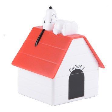 尼德斯Nydus~* 日本正版 史努比 Snoopy 小屋收納盒 造型 耳機 3.5mm iPhone 6/6S