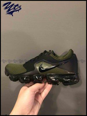 @ NIKE AIR VAPORMAX 軍綠 綠黑 大氣墊 休閒 慢跑鞋 男鞋 運動 AH9046 005 YTS