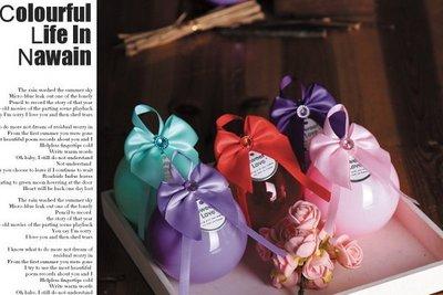 ☆藍藍的天☆【Y001019】結婚創意圓球型糖果盒婚慶喜糖盒塑料圓形果盒水晶球糖盒聖誕節禮盒萬聖節禮盒婚禮小物