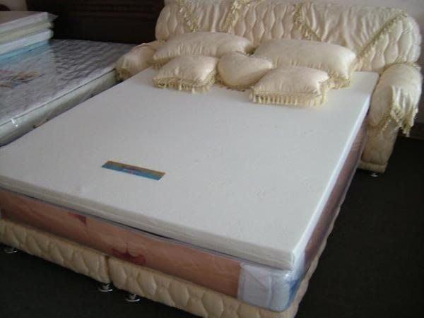 ※專業睡眠館※科技記憶純矽膠頂級毛巾布薄墊[7cm高密度65%] 雙人5*6.2尺~雙ISO國際品質認證