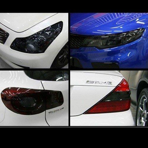 車燈貼膜 機車貼膜 包膜 大燈貼膜 保護膜 車燈改色 大燈改色 BMW BENZ FORD VW 沂軒精品 A0086