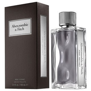 Abercrombie & Fitch A&F First Instinct 直覺男性淡香水50ML【小7美妝】