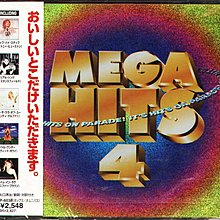 K ~ MEGA HITS 4 ~ 日版 NEW Whitney Houston Dary