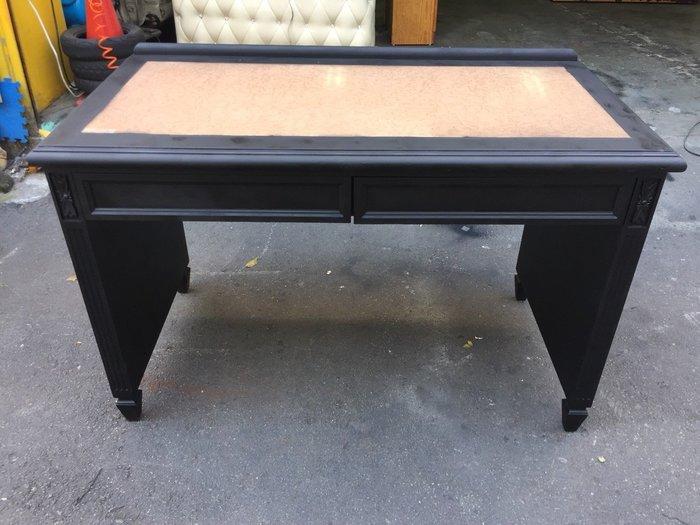 非凡二手家具 實木4尺兩抽書桌*辦公桌*電腦桌*工作桌*置物桌*會課桌*洽談桌
