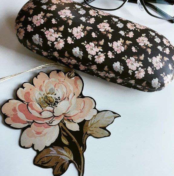 SECOND LOOK 英國雜貨Sass   Bell 法國玫瑰 花園 復古 眼鏡盒.