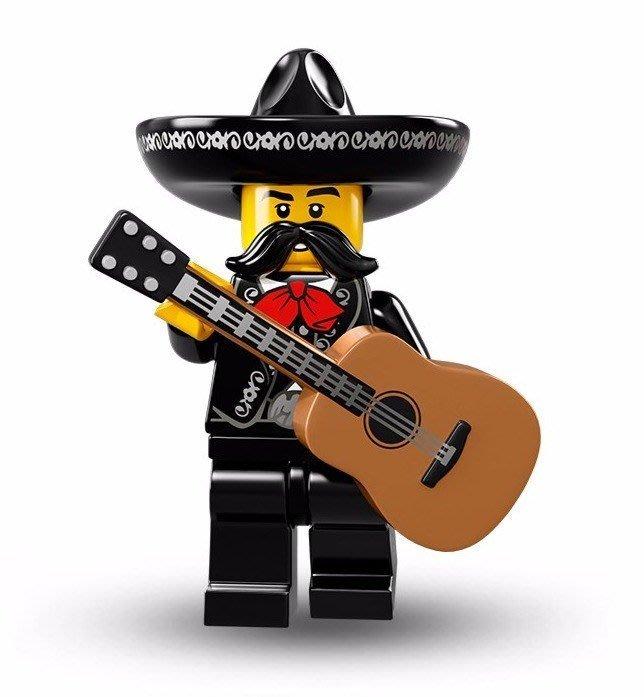 現貨【LEGO 樂高】美國正品 積木/ Minifigures人偶包系列:16代 71013 單一人偶: 老墨吉他手