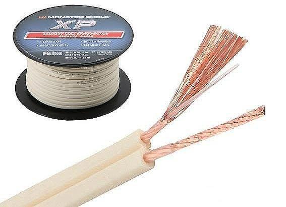 全新美國MONSTER怪獸Cable XP NW240芯非一般100蕊的喇叭線環繞線 *0.5米16元送音效軟體