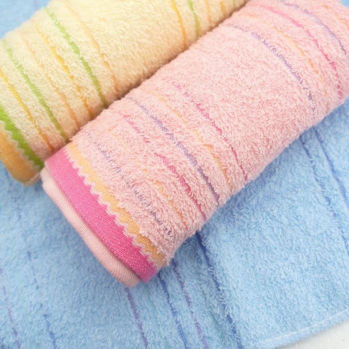 【TELITA】波浪橫紋易擰乾毛巾(超值9條組) 免運
