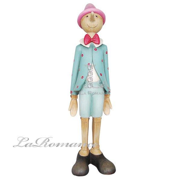 【芮洛蔓 La Romance】德國 Heidi 童趣家飾 - 彩色站姿小木偶 / 人物擺飾 / 小孩房 / 兒童房