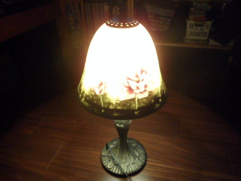 彩繪玻璃檯燈