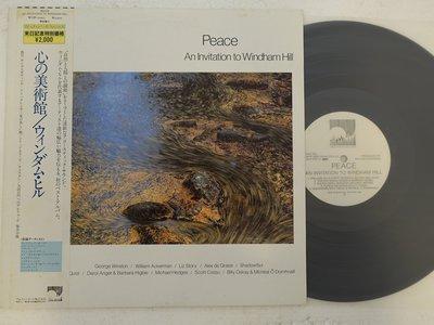 【柯南唱片】Wiliam Ackerman peace>>日版LP