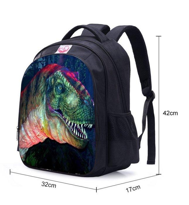彩虹商城☆新款小小兵恐龍圖案兒童書包雙肩背包3~6年級學生書包~現貨喔~