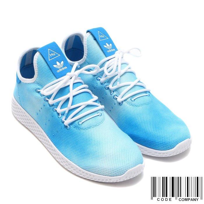 =CodE= ADIDAS PW HU HOLI TENNIS HU 渲染網球鞋(藍白)DA9618 菲董 男女 SAL