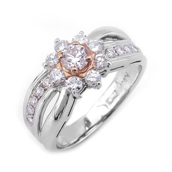 【JHT 金宏總珠寶/GIA鑽石專賣】0.237ct天然鑽石戒指/材質:PT900(JB26-A03)