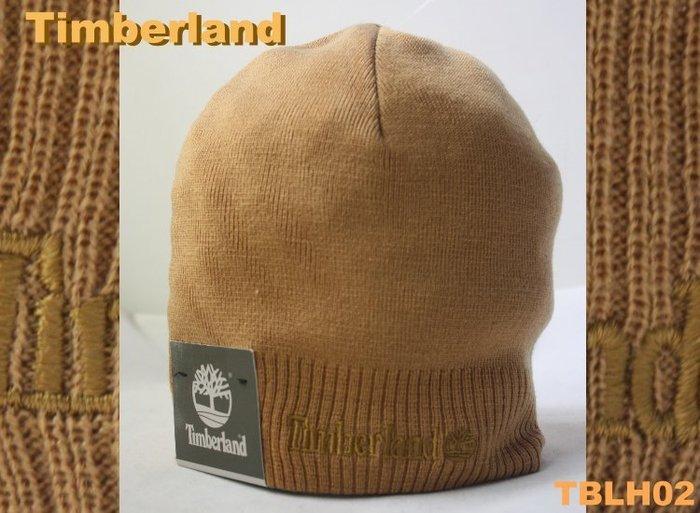 【TIMBERLAND 】100% 全新正品 秋冬新品 LOGO款 復古 針織 毛帽 - 駝色 *TBLH02*