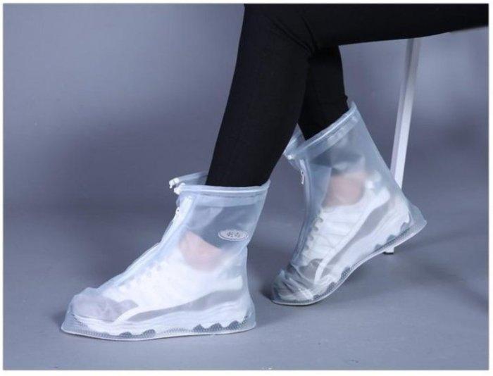 【防滑雨鞋套】AP0019 現貨 熱賣中 時尚 韓版可愛 時尚鞋套 日系女版 雨鞋套 加厚 防水 兩色可選