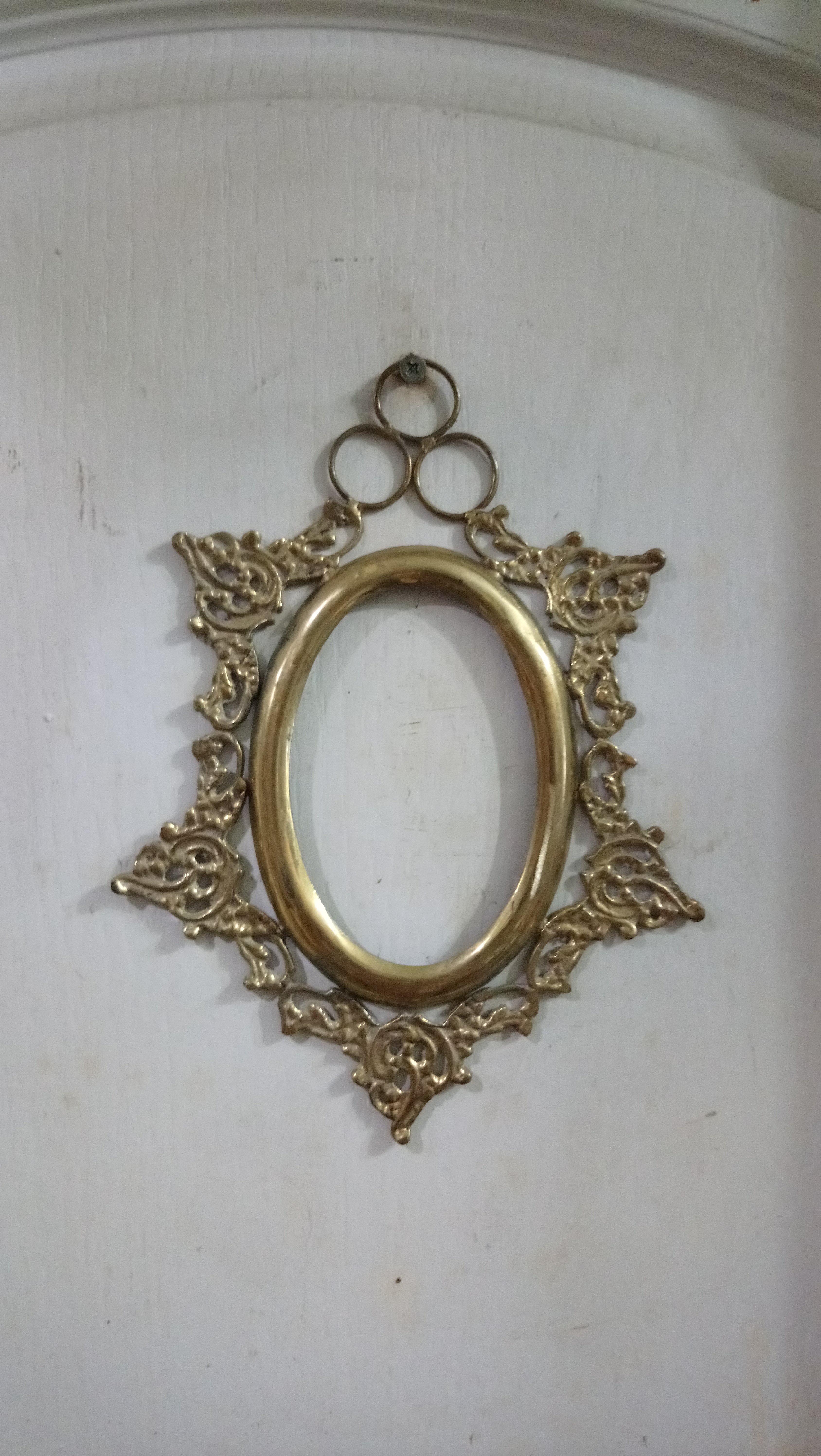 記憶的街角~法式小銅鏡框/相框