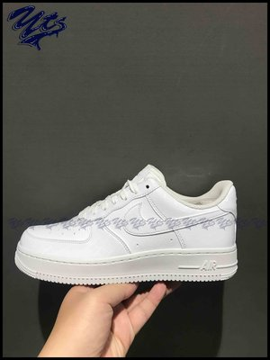 @ NIKE AIR FORCE 1 07 ESSENTIAL 白 漆皮 鱷魚紋 女鞋 AO2132 100 YTS