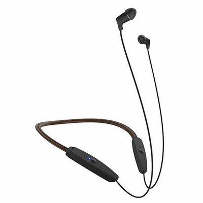 Klipsch R5 Neckband Headphones 棕色 藍牙耳機/藍芽/aptX/皮革材質/來電震動提醒 1