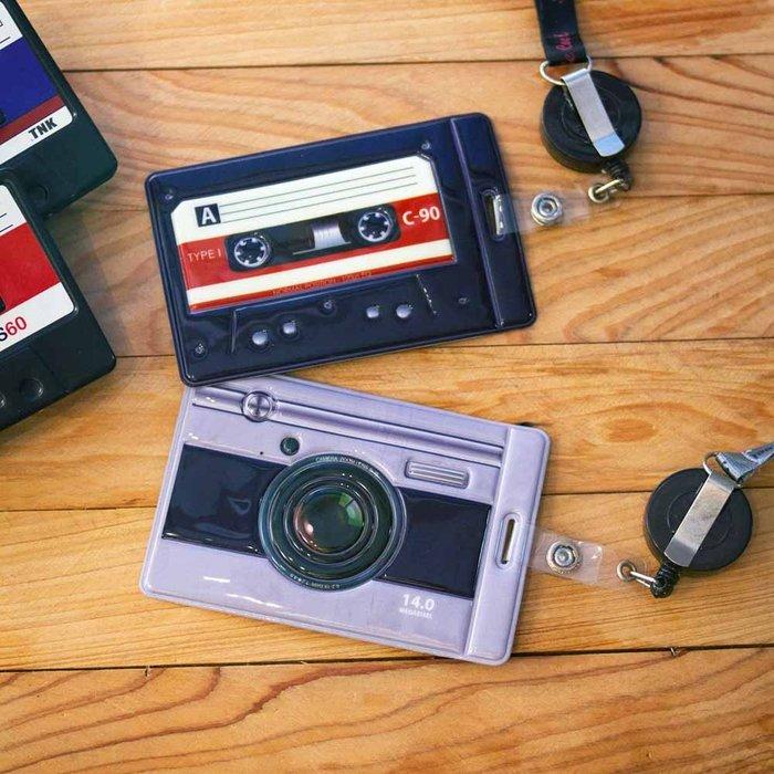 文青相機造型 證件夾/悠遊卡夾(leica,canon,nikon)